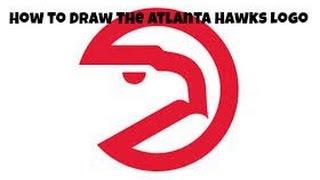 How to Draw the Atlanta Hawks Logo