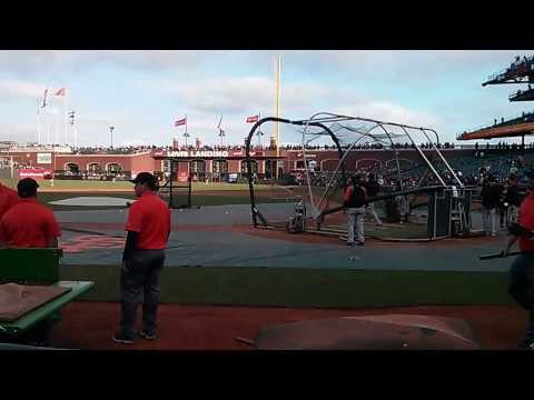Chris Davis BP (2nd Round) 2013-08-09 Baltimore Orioles @ San Francisco Giants