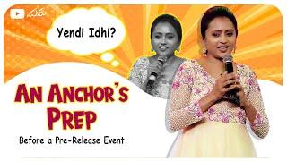 An Anchor's Prep - Beḟore a Pre-Release Event || Suma
