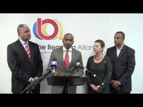 OBA Announce Candidates Scott Roberts-Holshouser Hunt Bermuda December 1 2011
