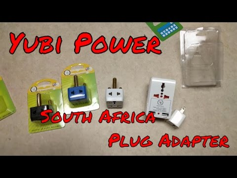 Yubi Power South Africa power plug converter