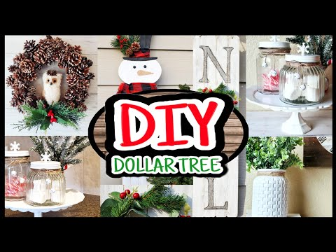 Dollar Tree DIY Christmas decorations 2019