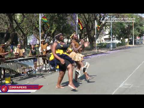 State of the Nation Address  ZRP Traditional Dance group provides entertainment, 18 Sept, 2018