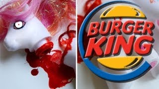 Burger King Challenge: Can you taste the horse meat?!