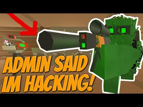 SERVER OWNERS SAID I USED HACKS TO RAID THEIR BASE! - Modded Unturned #52