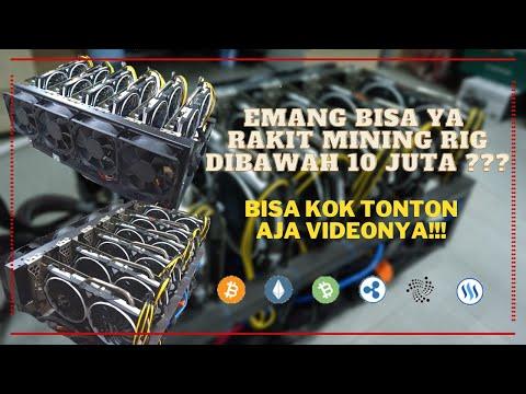 VIRAL!!! Dibawah 10 Juta Udah Bisa Rakit Mining Rig 6 X RX 570/580 8 Gb | Cara Mining Ethereum 2021
