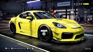 Need for Speed Heat - Porsche 718 Cayman GTS 2018 - Customize | Tuning Car (PC HD) [1080p60FPS]