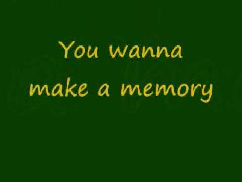 make a memory- bon jovi w/ lyrics
