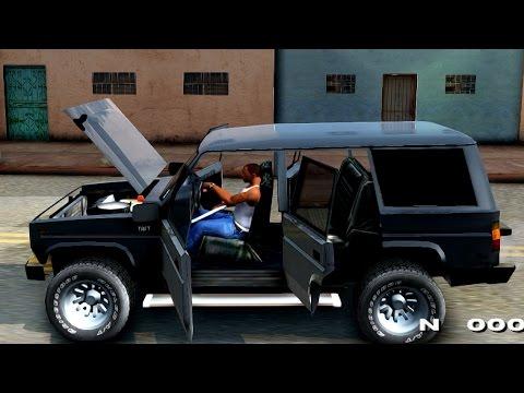 Daihatsu Taft Hiline Long - GTA San Andreas