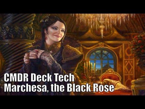 Adam 39 s marchesa the black rose cmdr deck edh commander for Commander rose
