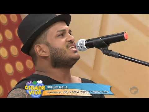 Bruno Rafa canta o melhor do sertanejo no Cidade Viva