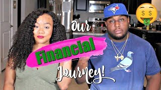 OUR FINANCIAL JOURNEY AS A COUPLE   FROM BROKE TO SIX FIGURES Video