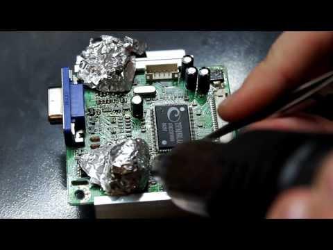 Ремонт монитора LG L1718S