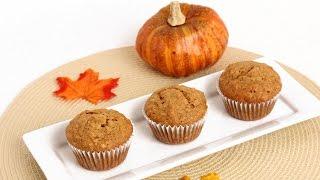 Granola Pumpkin Muffins Recipe - Laura Vitale - Laura In The Kitchen Episode 828