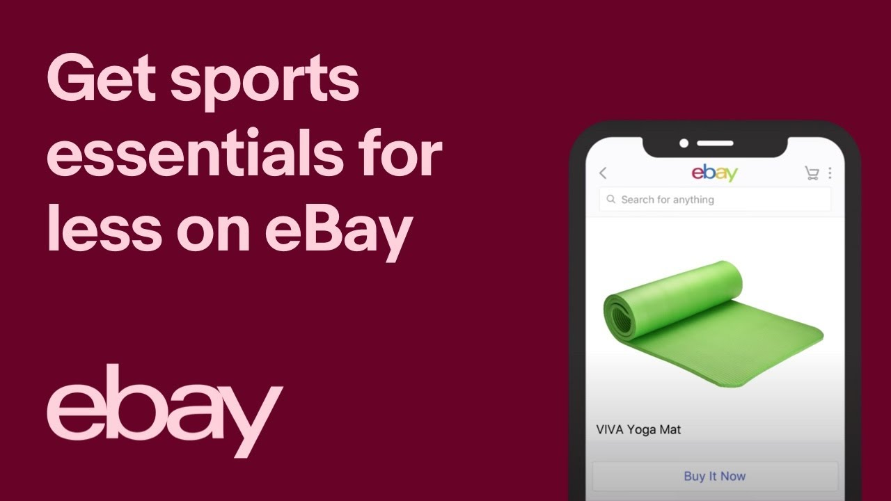 Sports essentials for less on eBay 15""