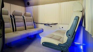 Переоборудование микроавтобуса в «Мобильный офис на колесах»