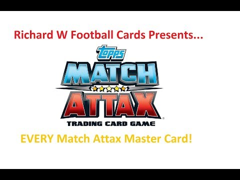 SUBSCRIBER SPECIAL #2 EVERY Match Attax MASTER CARDS from 2007 to 2018
