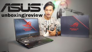 Asus ROG Strix Scar II Core i7 8th Gen  | unboxing review opinion |