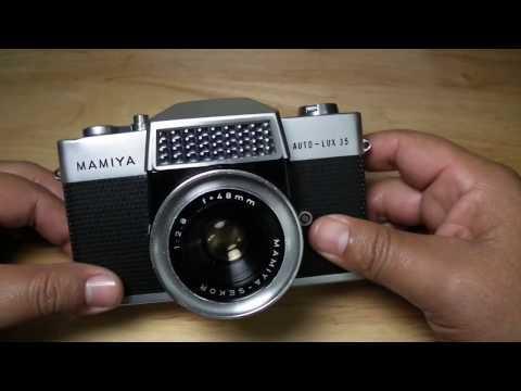 "Dfilm!!! La ""Mamiya Auto-Lux 35"". SLR. 35mm. Breve reseña."