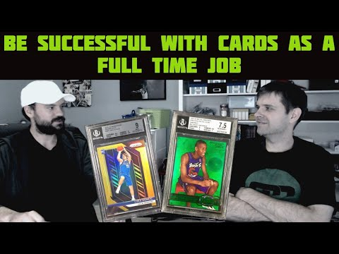 Coleman Cards - Flipping Luka Silver Prizms And Going Full Time In Cards | Cardboard Chronicles 55