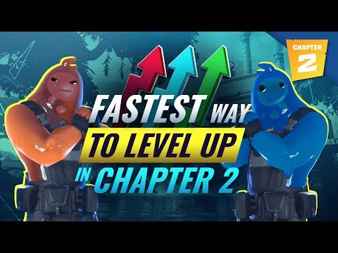 *FASTEST* Methods To Level Up & Gain XP In Fortnite Chapter 2!