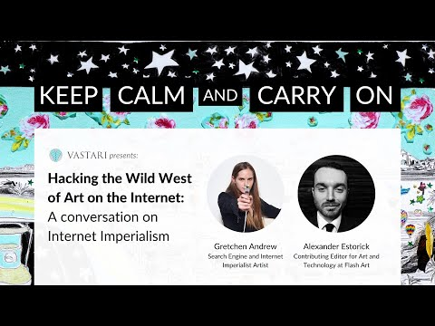 Hacking the Wild West of Art on the Internet: A conversation on Internet Imperialism