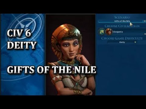 Download CIV 6 Deity - Gifts of the Nile - Egypt, Part 1