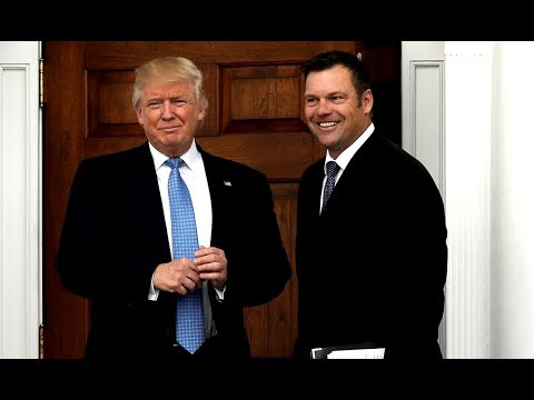 Republican Kris Kobach Is Hell-Bent On Suppressing Minority Votes