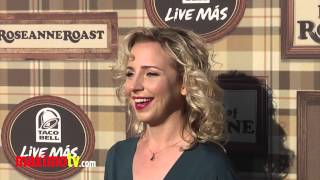 "Alicia Goranson at Comedy Central ""Roast of Roseanne"" Arrivals"