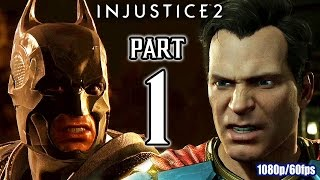 Injustice 2 Walkthrough PART 1 (PS4 Pro) No Commentary Gameplay @ 1080p (60ᶠᵖˢ) HD ✔