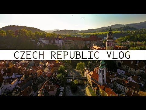 CZECH REPUBLIC VLOG - 2017 - PRAGUE - KUTNA HORA - SIROKY DUL - CESKY KRUMLOV - EUROPE SUMMER