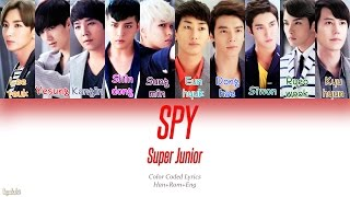 Super Junior (슈퍼주니어) – SPY (Color Coded Lyrics) [Han/Rom/Eng]