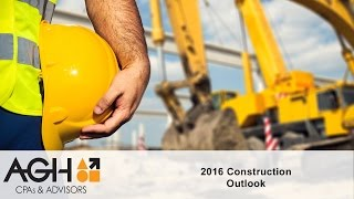 2016 Construction Industry Outlook