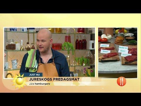 Den perfekta burgaren med Johan Jureskog - Nyhetsmorgon (TV4)