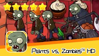 Plants vs  Zombies™ HD ROOF Level 07 Day2 Walkthrough The zombies are coming! Recommend index five s