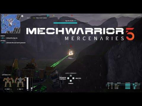 MechWarrior 5: Mercenaries - War with Mechabots!  