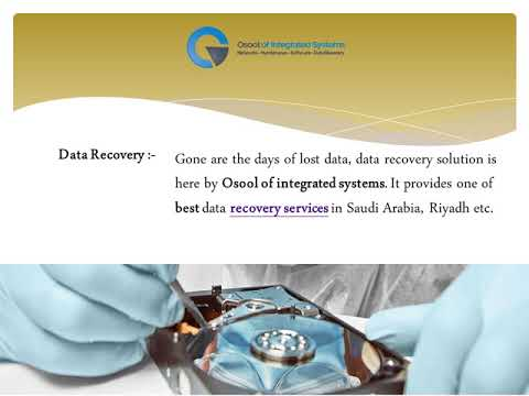 Osool of Integrated Systems - Best Data Recovery Services