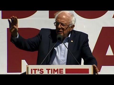 HEALTH CARE:  Sen. Bernie Sanders pitches single payer health care plan in San Francisco speech