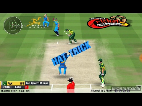 best bowling trick Bumrah hatrick..  Pak 5/5 in 2 ovrs..  Watch carefully Bowling trick wcc2