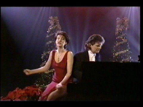 Celine Dion & David Foster - The Christmas Song (NO AUDIO - VIDEO ONLY)