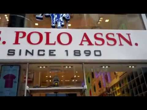 A View Of The U.S. Polo Assn. Store In Times Square, New York City, New York
