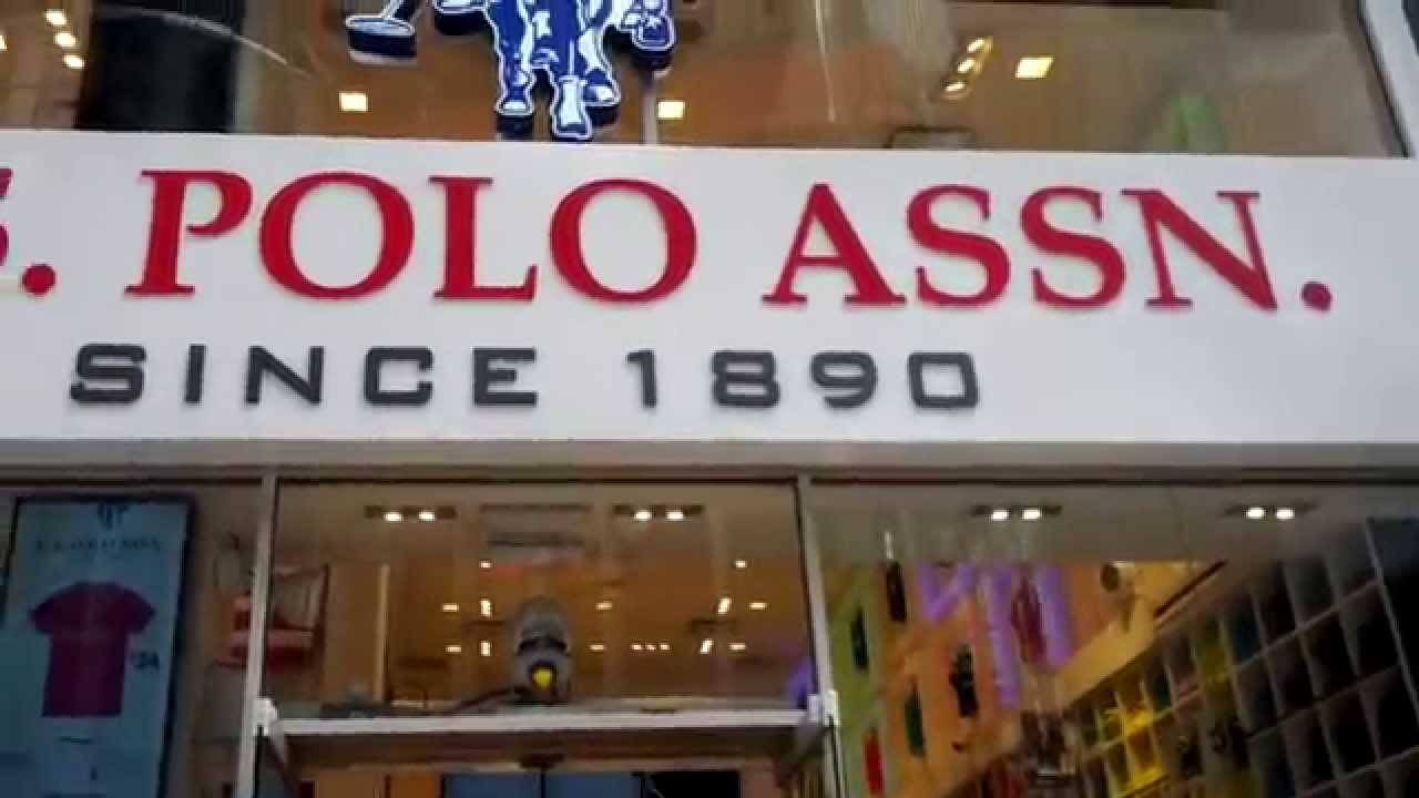 A View of the U.S. Polo Assn. Store in Times Square 3b558b7d8b