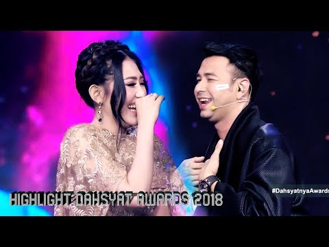 VIA VALLEN DIRAYU RAFFI AHMAD | HIGHLIGHT DAHSYATNYA AWARDS 2018