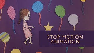 Flying in a Cage Stop Motion Animation