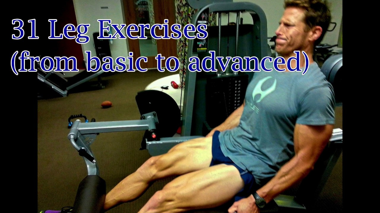 33 LEGS Exercises by Andy McDermott