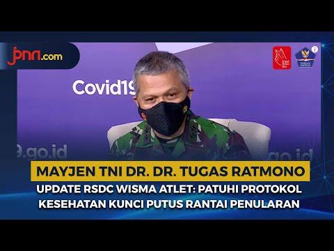 Update RSDC Wisma Atlet: Patuhi Protokol Kesehatan Kunci Putus Rantai Penularan
