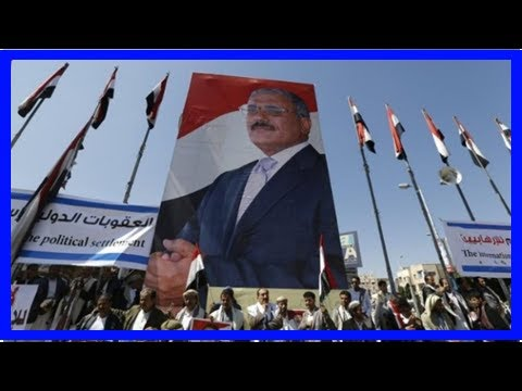 TODAY NEWS - Saleh Yemen buried in sanaa with the handful of relatives present: sourc