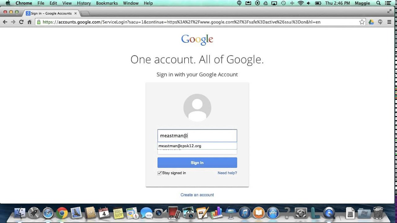 Cps Student Login To Google Short Tutorial Of Google Drive Youtube