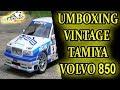 Panda Slot RC - Unboxing Vintage Tamiya Volvo 850 BTCC