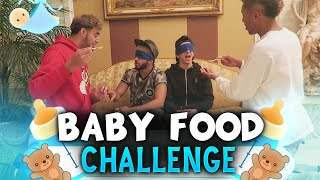 THE BABY FOOD CHALLENGE!! ft. Adam Saleh